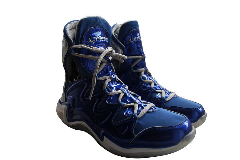 2014 Retro Air Jordan 29 Latest Blue White Shoes_29