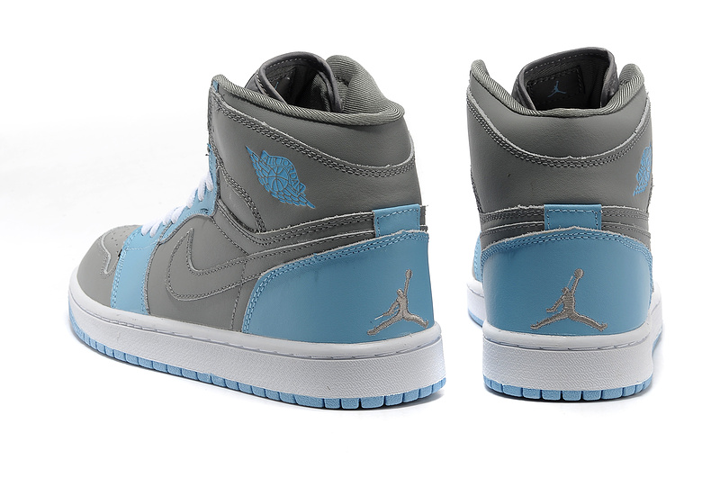 2015 Air Jordan 1 Retro High Grey Blue White
