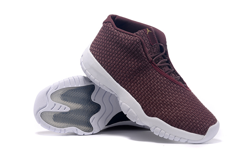 2015 Jordans Future Wine Red White Shoes