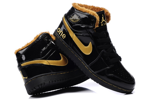 2015 Air Jordans 1 Retro Black Gold_01