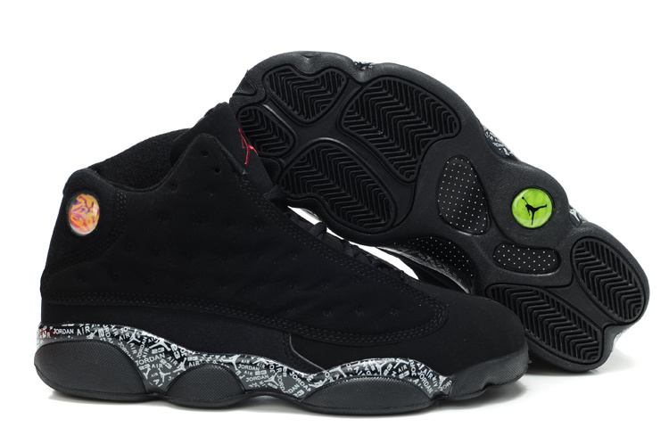 2015 Air Jordans 13 Retro Dark Black