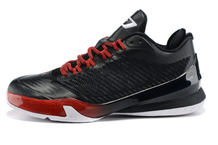 2015 Air Jordans CP3 VIII Black Red Shoes