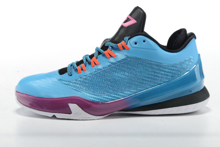 2015 Air Jordans CP3 VIII Blue Purple Black Shoes