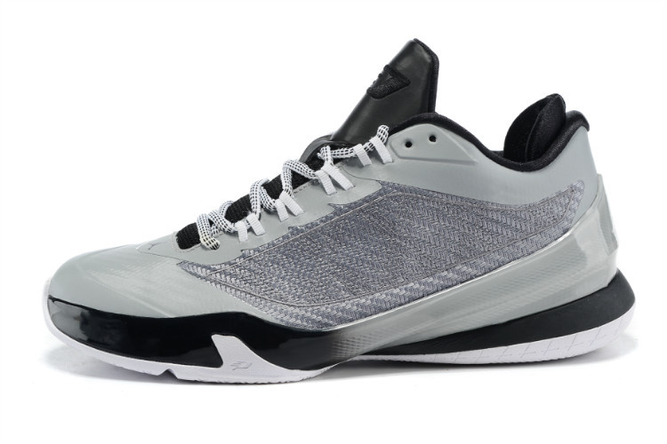 2015 Air Jordans CP3 VIII Grey Black Shoes