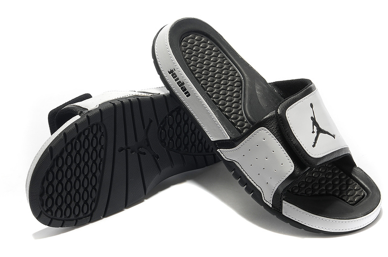 2015 Air Jordans Hydro 2 Grey Black Sandal
