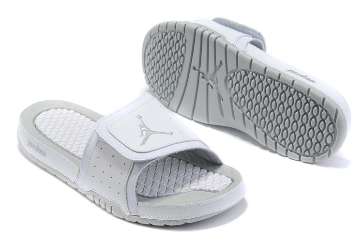 2015 Air Jordans Hydro 5 All Grey Sandal