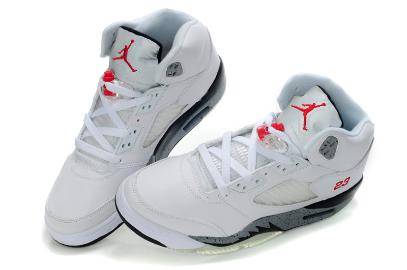 2015 Air Jordans Original 5 White Grey_05