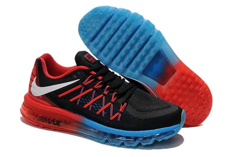 2015 Air Max Black Blue Red Lovers Runnings