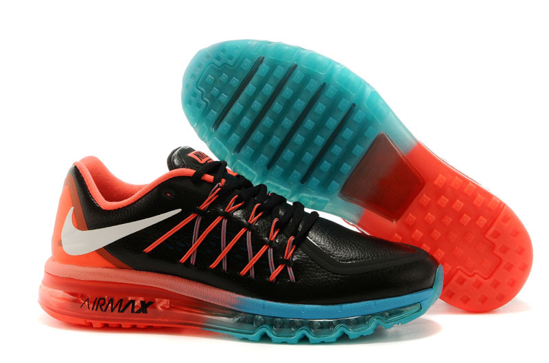 2015 Air Max Black Blue Red Mne Running Shoes