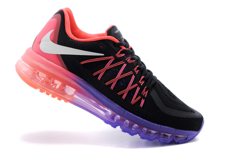 2015 Air Max Black Purple Pink Runnings