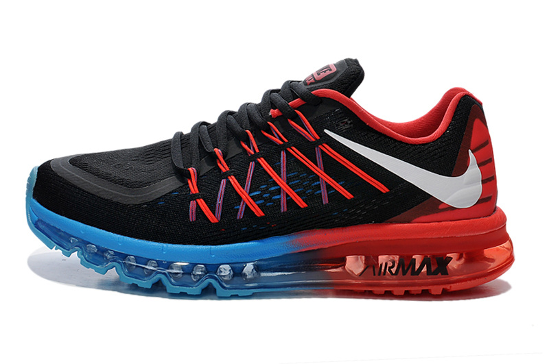 2015 Air Max Black Red Blue Women Shoes