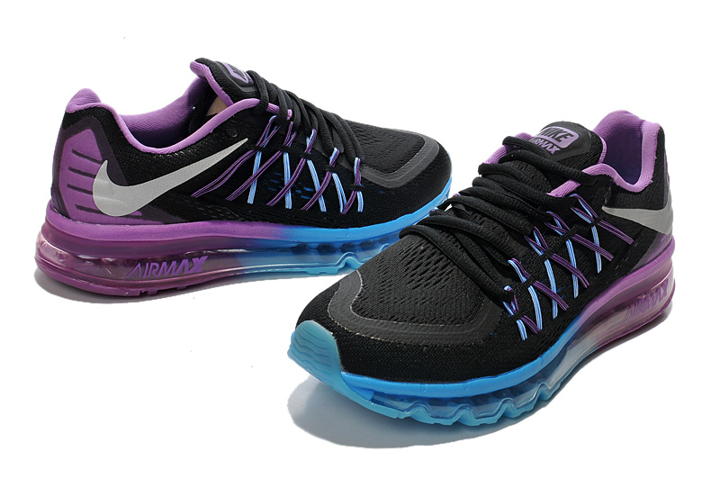 2015 Air Max Lovers Black Blue Pink Lovers Runnings