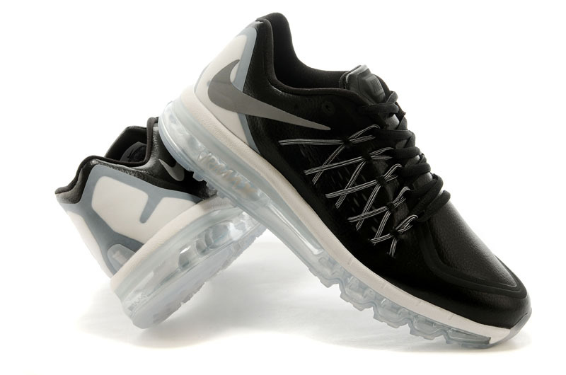 2015 Air Max Men Black Sliver Runnings