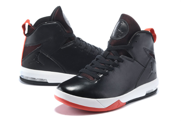 2015 Black White Red Jordans Trend Shoes