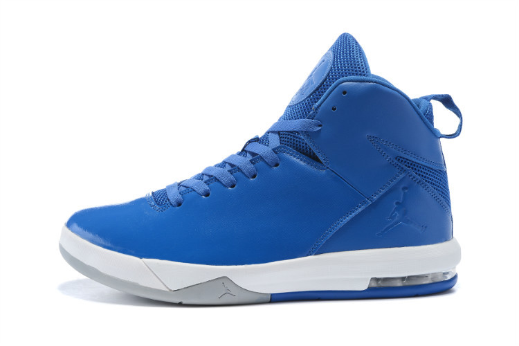 2015 Blue White Jordans Trend Shoes