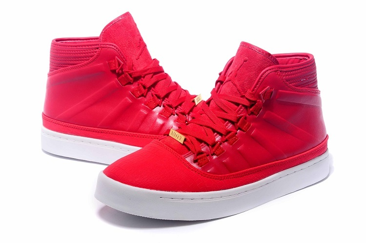2015 Jordans Westbrook 0 1 Red White Shoes