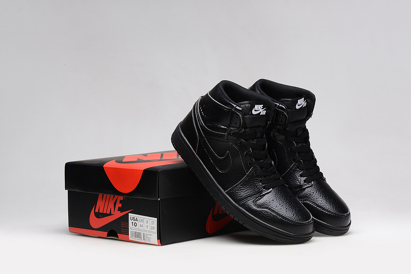 2015 Jordans 1 Retro All Black