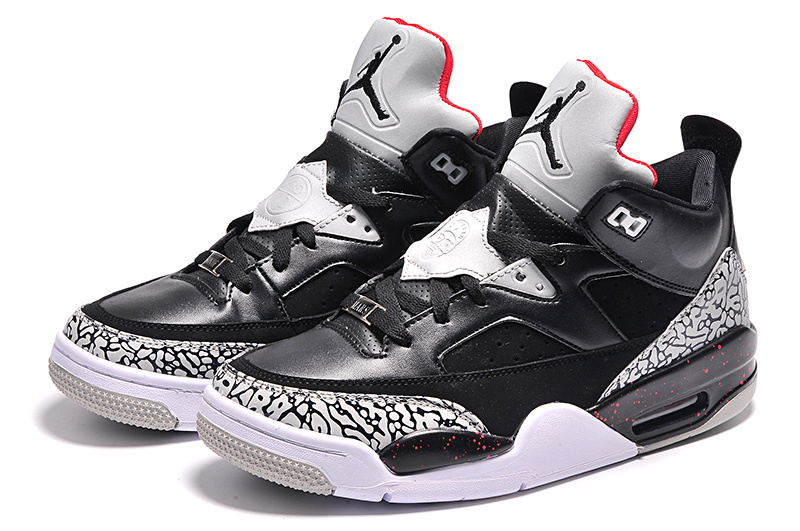 2015 New Black Grey Jordans Son of Mars Low