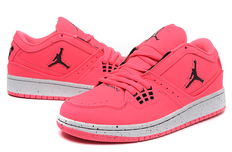 2015 New Jordans 1 Flight Low Pink