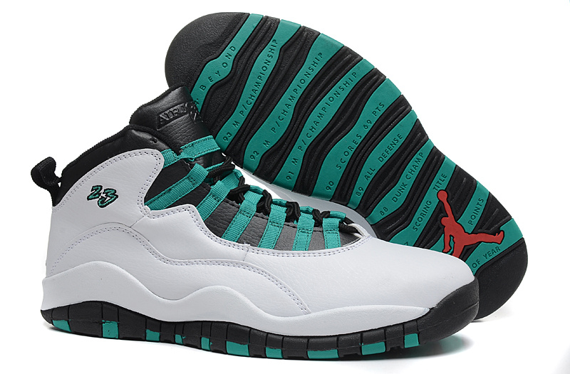 2015 New Jordans 3 Retro White Green Black