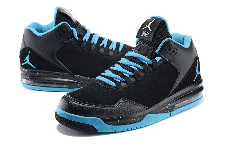 2015 New Jordans Flight Original Black Green Jumpman