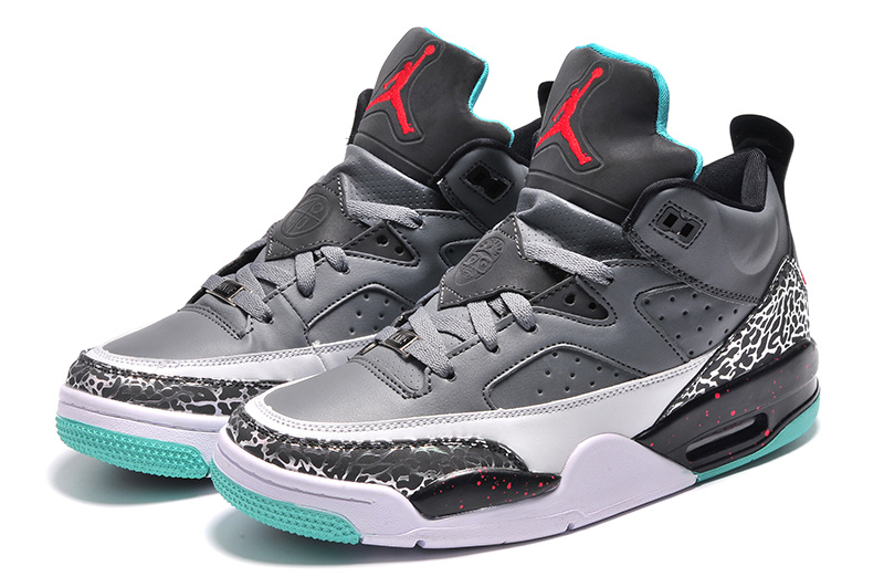 2015 Newly Grey Black Green Jordan Son of Mars Low