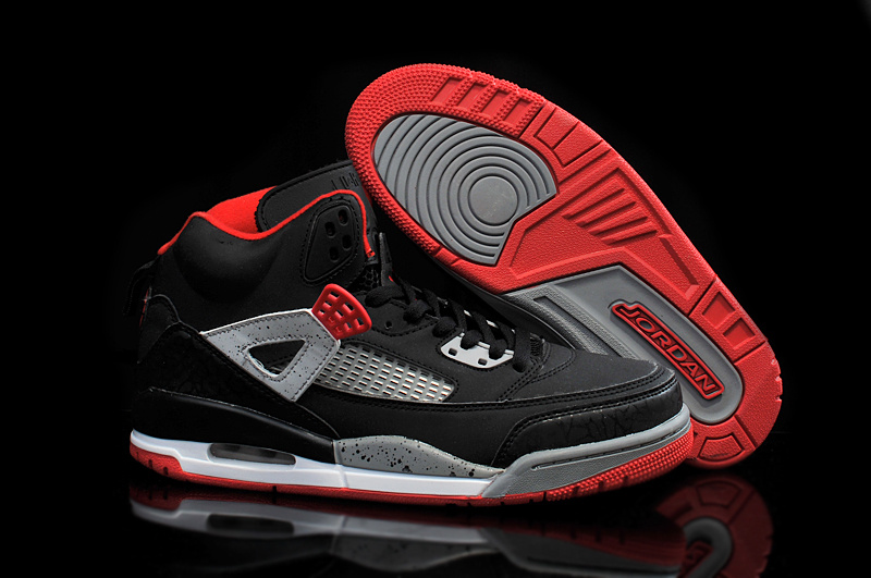 2015 Newly Jordans 3.5 Black Red Grey Shoes