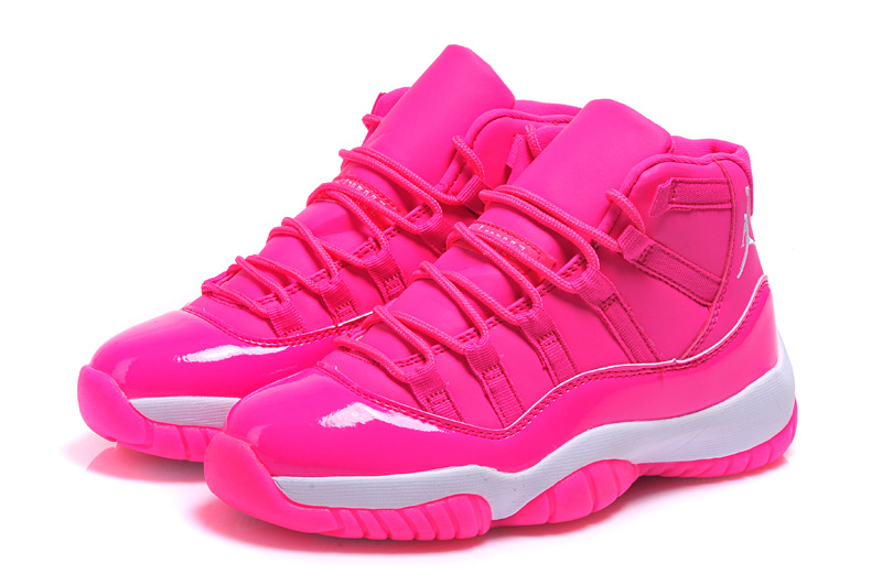 2015 Original Women Jordans 11 Retro Pink