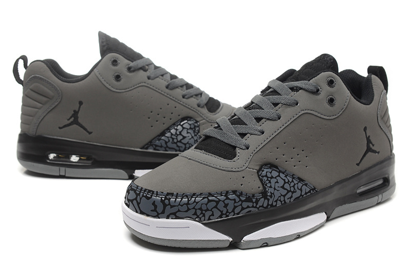 2015 Real Jordans Dark Grey Cement Black White Shoes