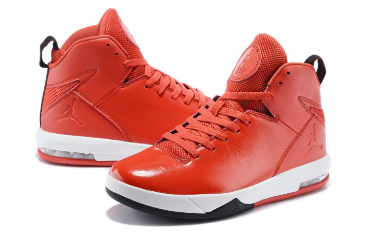 2015 Red White Jordans Trend Shoes