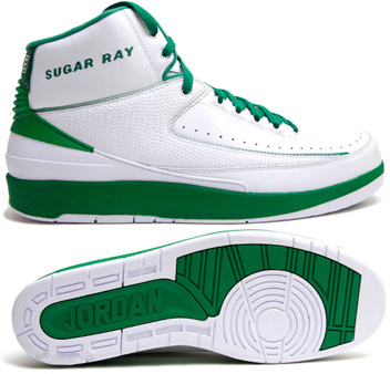2015 Retro Air Jordan 2 White Green Chrome Shoes
