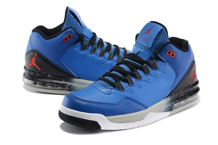 2015 new Jordans Flight Original Blue Black Red Jumpman