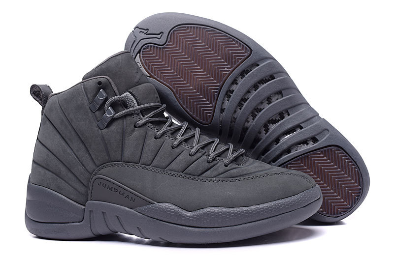 2016 Air Jordan 12 PSNY Carbon Fiber Shoes