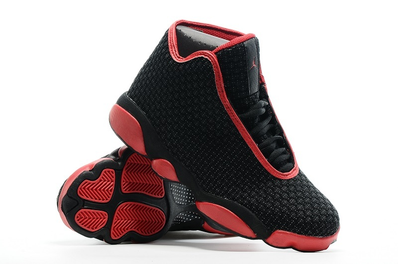 2016 Air Jordans 13 Jordan Future Black Red Retro Sneaker