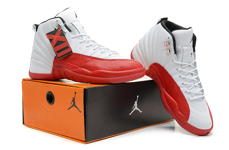 Air Jordans 4 Classic Hardback White Red