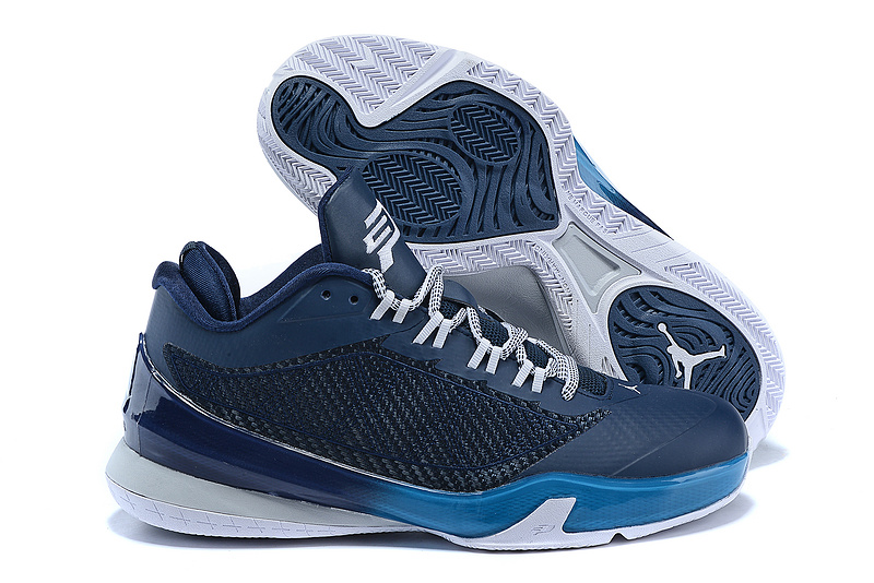 Blue White Air Jordans Flight Original 2 Shoes