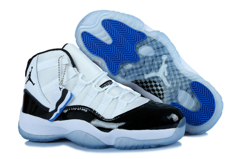 Classic Jordan 11 Concord Retro White Black For Women