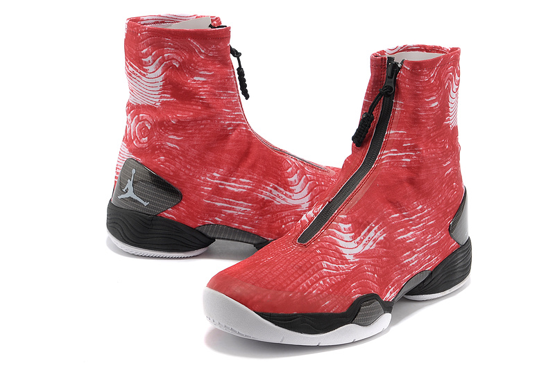 Classic 2013 Air Jordan 28 Original Red Black Shoes