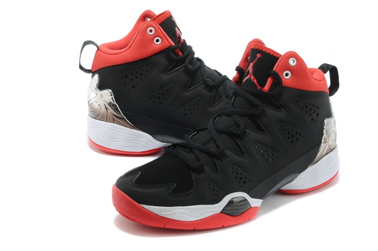 Classic Jordan Anthony 10 New Arrival Black White Red Shoes