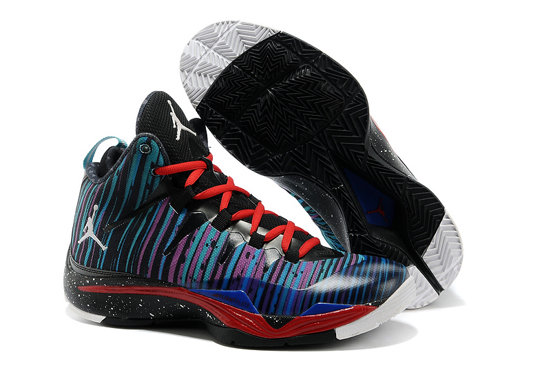 Classic Jordan Blake Griffin 2 Colorful Retro Blue Black Red Shoes