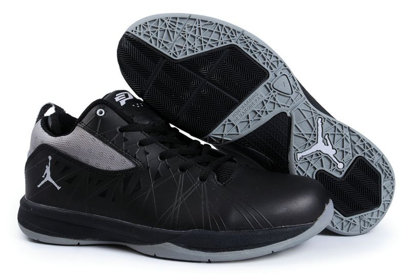 Classic Jordan CP3 5 Original Black Grey Shoes