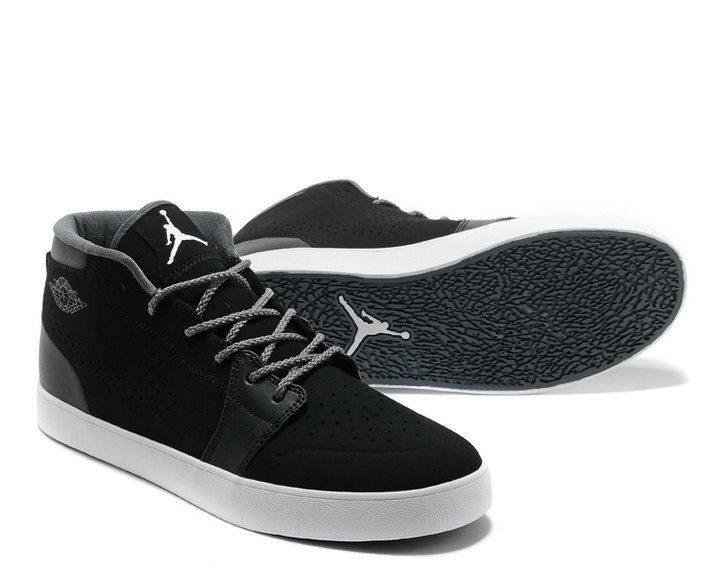 Classic Nike Air Jordan V.1 Chukka Original Black White Shoes