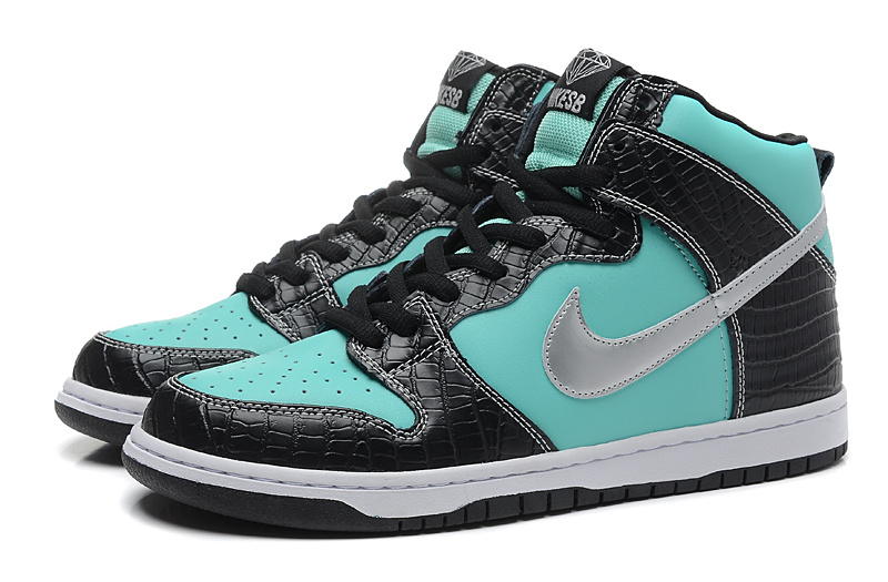 Hot Lovers Nike Dunk High SB Diamond Shoes