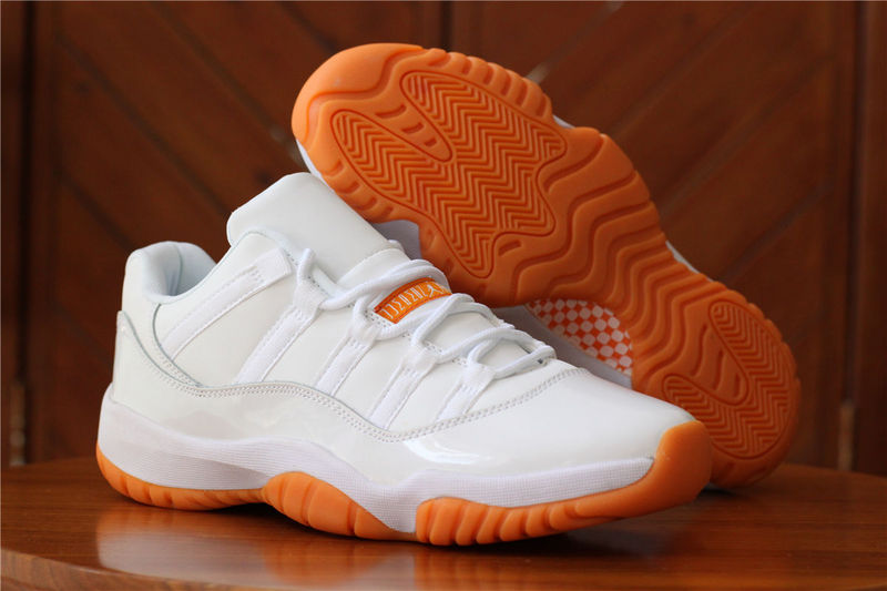 Jordans 11 Low White Retro Sneaker