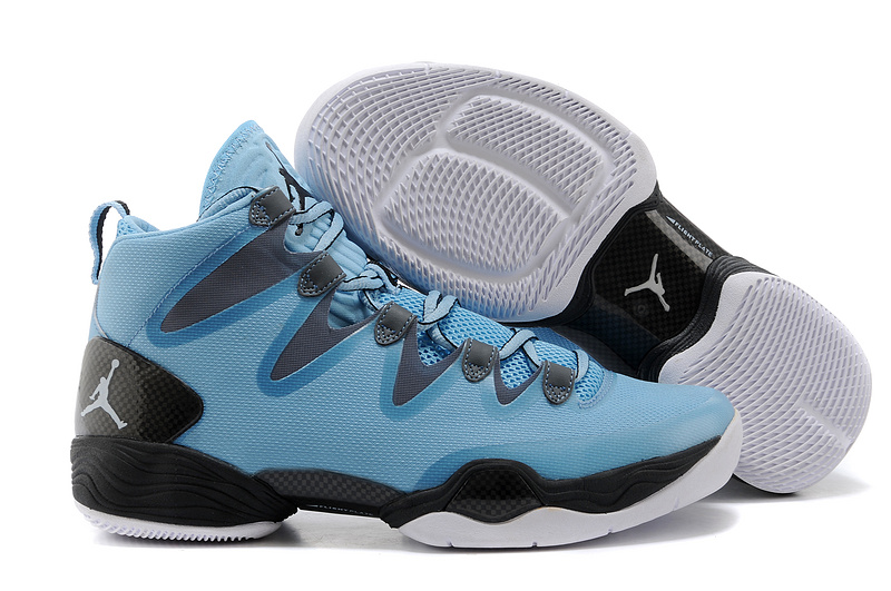 Jordans 28 Black Blue Basketball Shoes For Sale