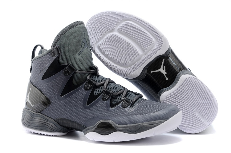 Jordans 28 Grey Shoes For Sale