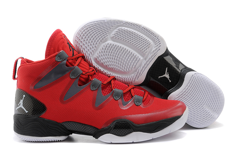 Jordans 28 Red Black Shoes For Sale
