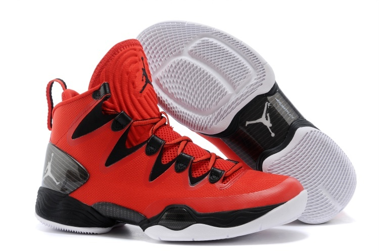 Jordans 28 White Red Black Shoes For Sale