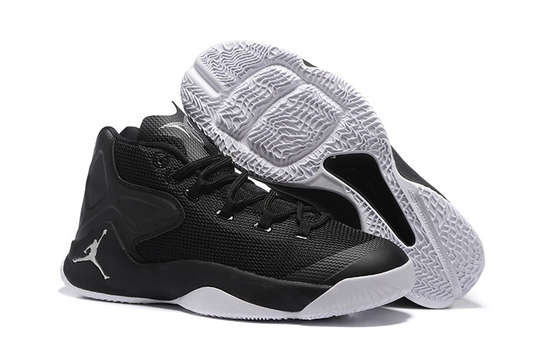 Jordans Anthony Black White Basketball Shoes