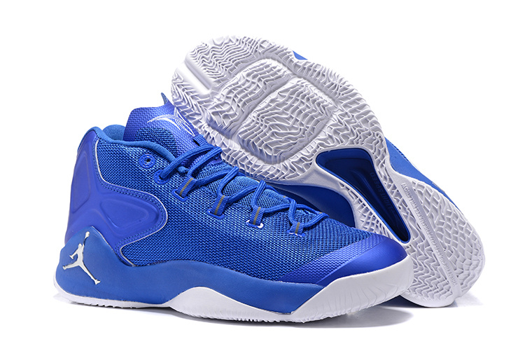 Jordans Anthony Jade Blue White Shoes For Sale